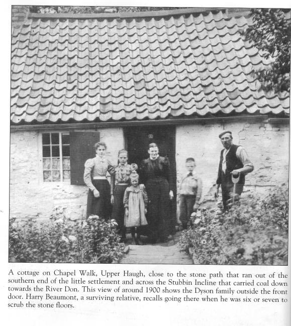 Upper Haugh cottage 1900