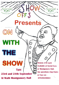 On with the show - social eyes