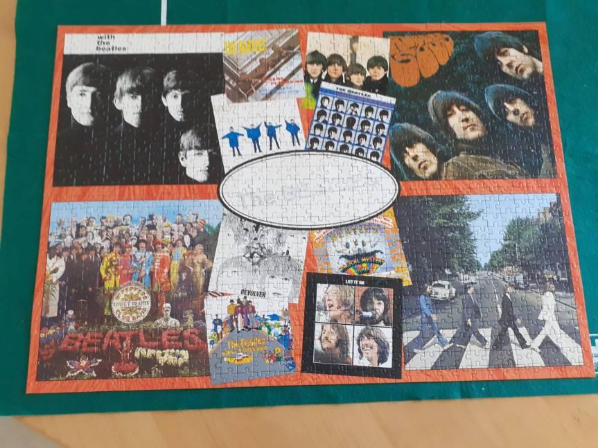 Davids jigsaw the beatles