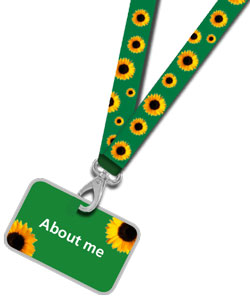 sunflower-lanyard